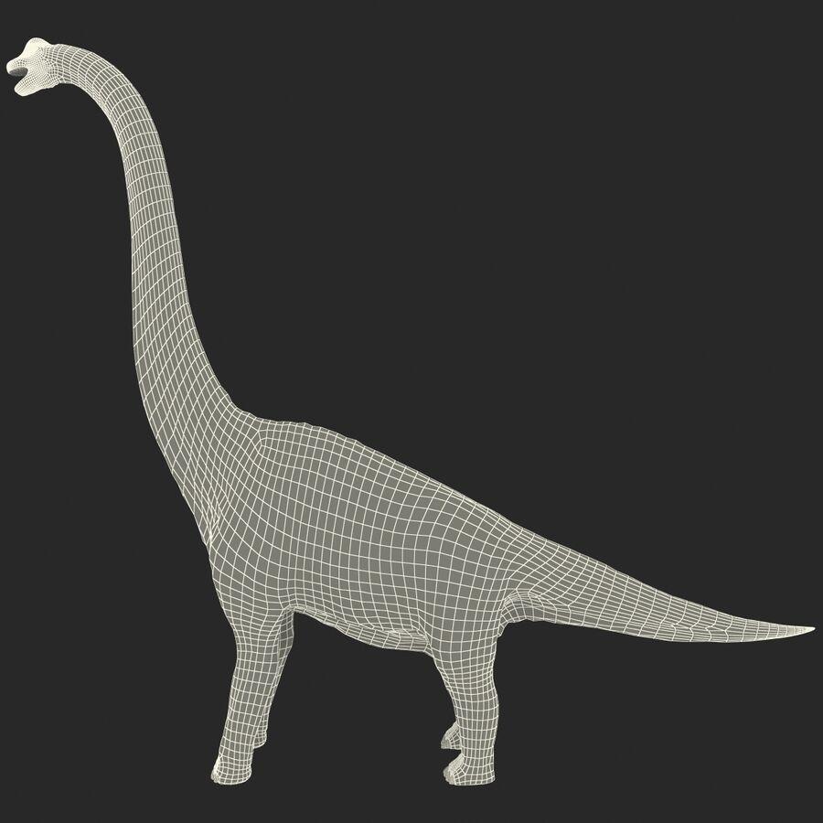 Brachiosaurus royalty-free 3d model - Preview no. 17