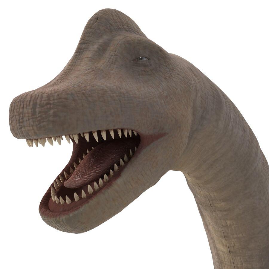 Brachiosaurus royalty-free 3d model - Preview no. 13