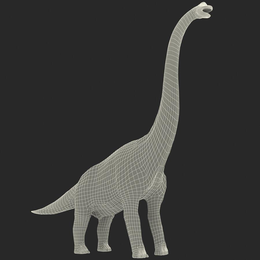 Brachiosaurus royalty-free 3d model - Preview no. 16