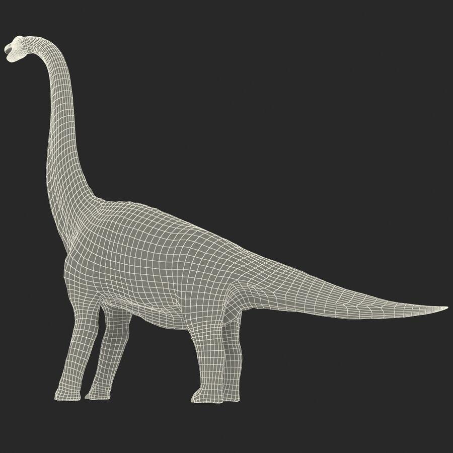 Brachiosaurus royalty-free 3d model - Preview no. 23