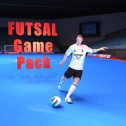 Pack de jeu de futsal 3d model