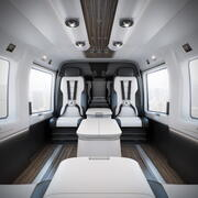 Mercedes-Benz interiörhelikopter 3d model
