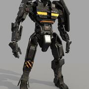 ES_士兵 3d model