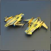 Lennoel Starship 3d model