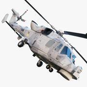AgustaWestland AW159 Lynx Wildcat 3d model