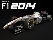 Williams Martini Rennen FW36 2014 3d model