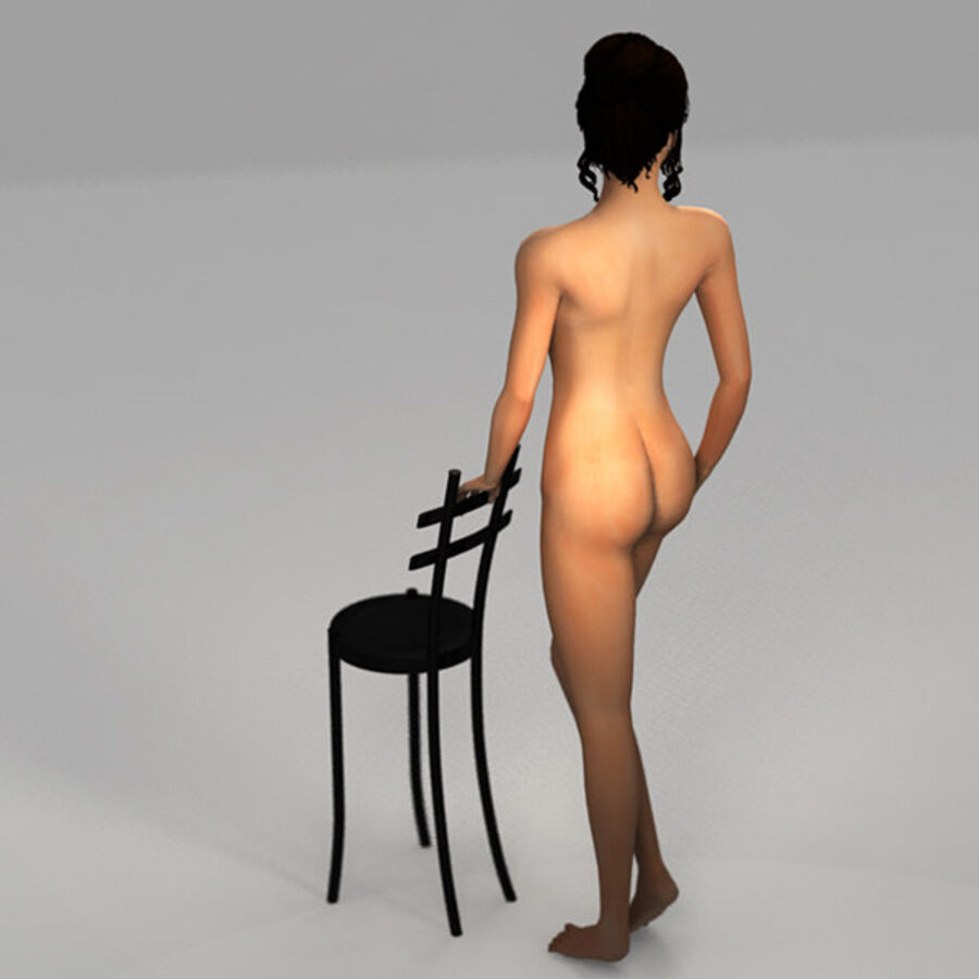 Aish Rigged royalty-free 3d model - Preview no. 12