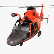 Arama Kurtarma Helikopteri Eurocopter HH-65 Dolphin 2 Arma 3d model