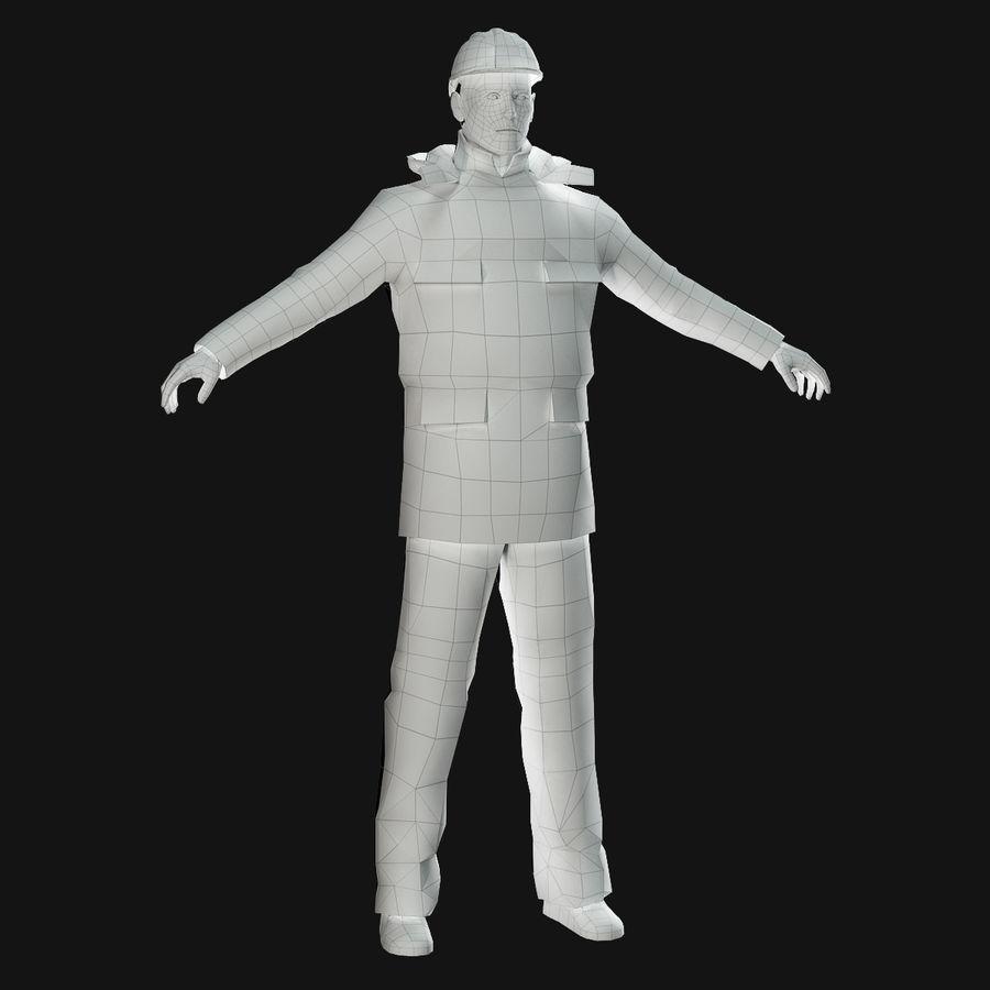 Oljeraffinaderi royalty-free 3d model - Preview no. 6