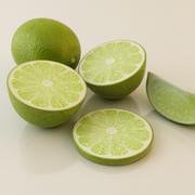 Grön Lime 3d model