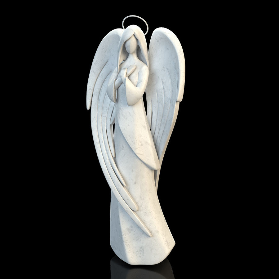 Angel royalty-free 3d model - Preview no. 5