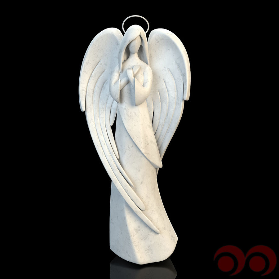 Angel royalty-free 3d model - Preview no. 1