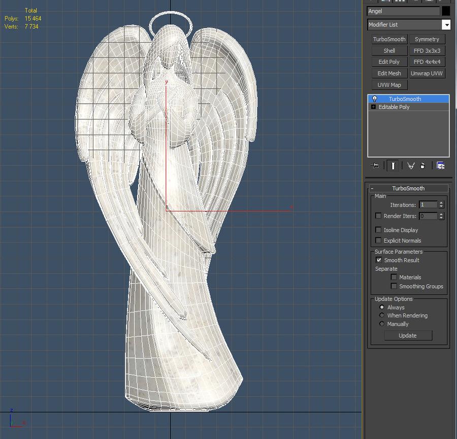 天使 royalty-free 3d model - Preview no. 7