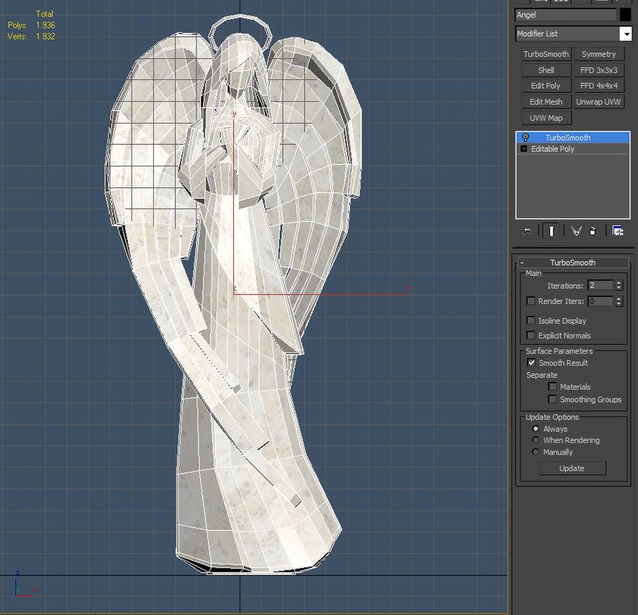 天使 royalty-free 3d model - Preview no. 6