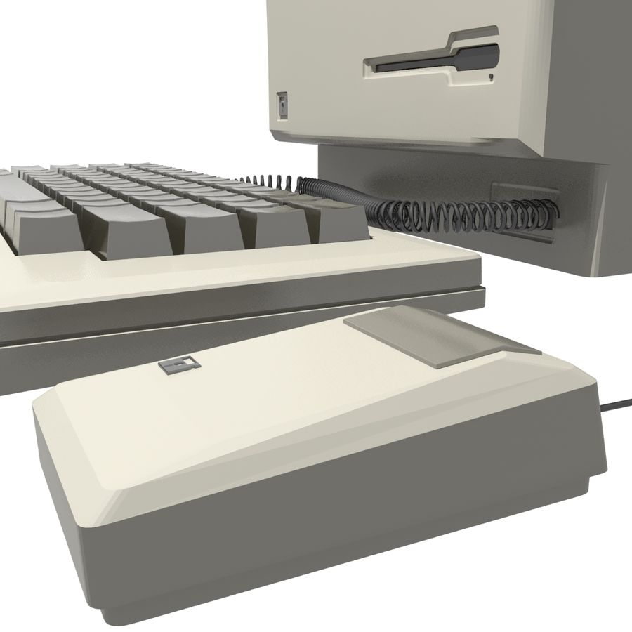 Old Computer royalty-free 3d model - Preview no. 5