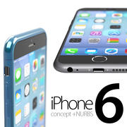 iPhone 6 concept + NURBS 3d model