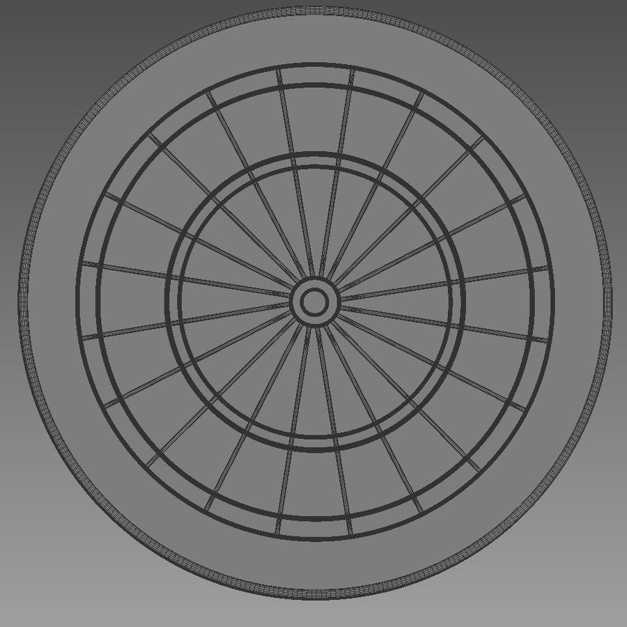 Alvo de dardos royalty-free 3d model - Preview no. 6