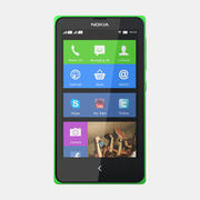 Nokia X and X+ 3d model