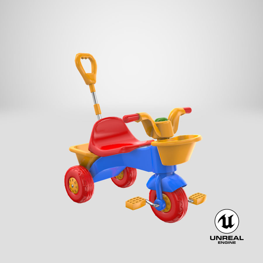 Trycykl royalty-free 3d model - Preview no. 21
