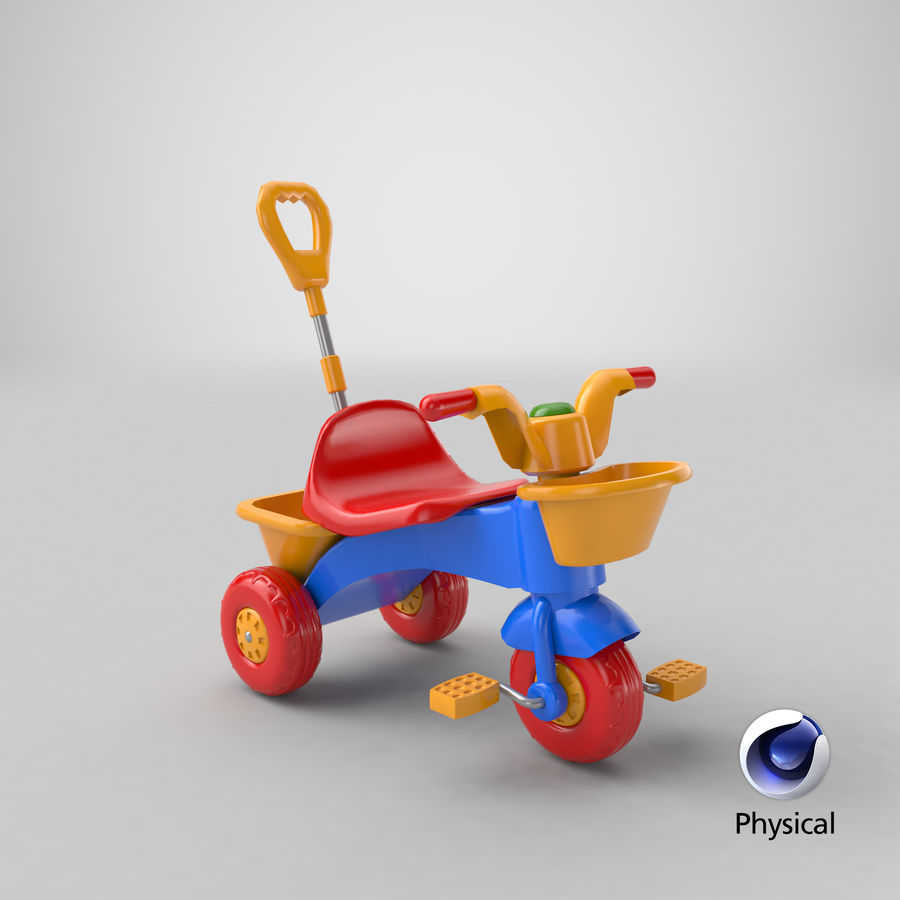 Trycykl royalty-free 3d model - Preview no. 23