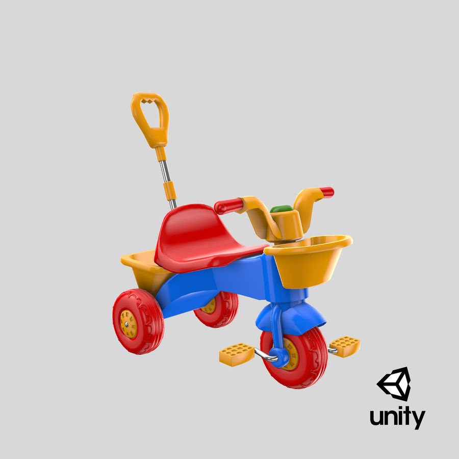 Trycykl royalty-free 3d model - Preview no. 22