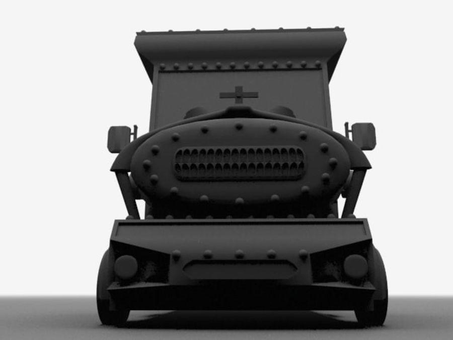 卡车 royalty-free 3d model - Preview no. 7
