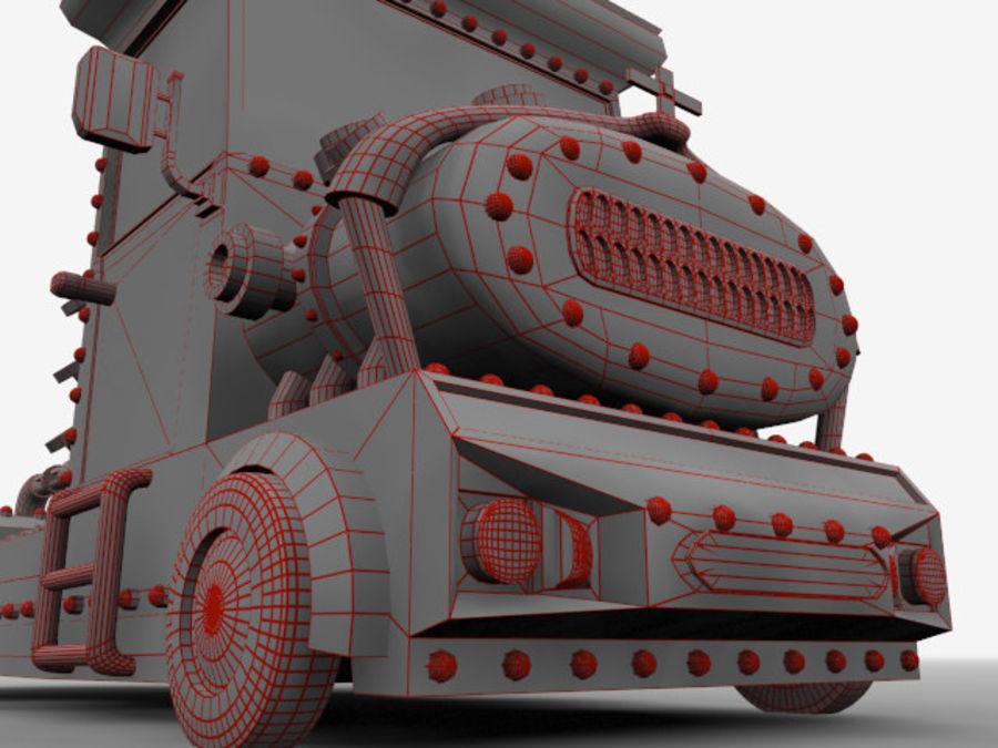 卡车 royalty-free 3d model - Preview no. 17