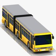 Cartoon Metrobus 3d model