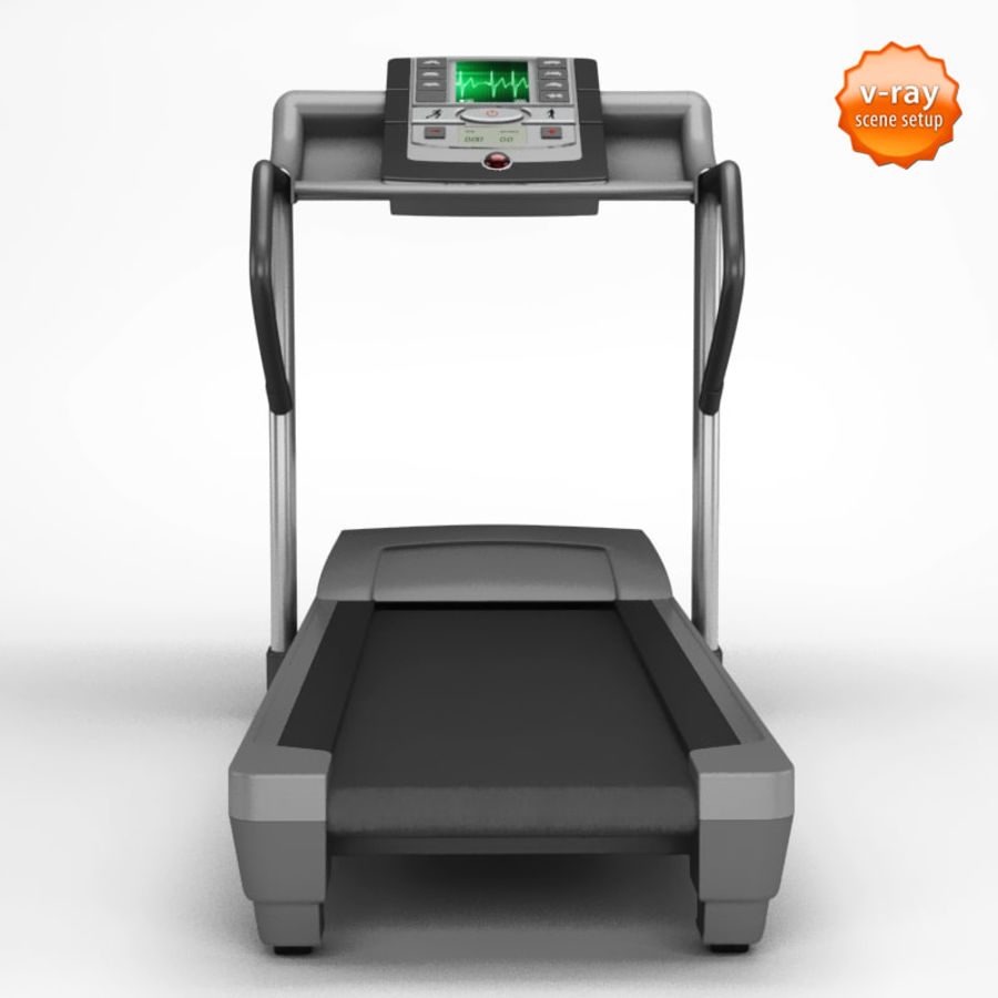 Treadmill royalty-free 3d model - Preview no. 2