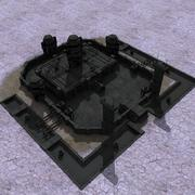 Centre de rechercheSCIFI 3d model