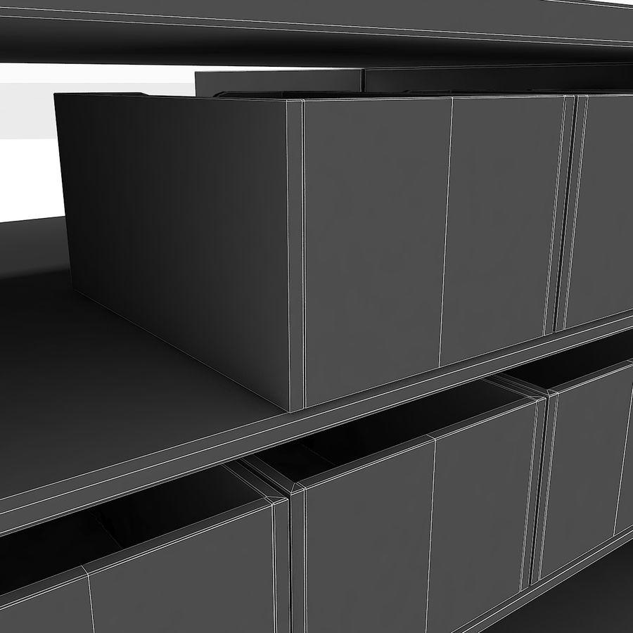 Siłownia Duże wyposażenie Wyposażenie garderoby Wyposażenie półek regałowych narzędzi royalty-free 3d model - Preview no. 16