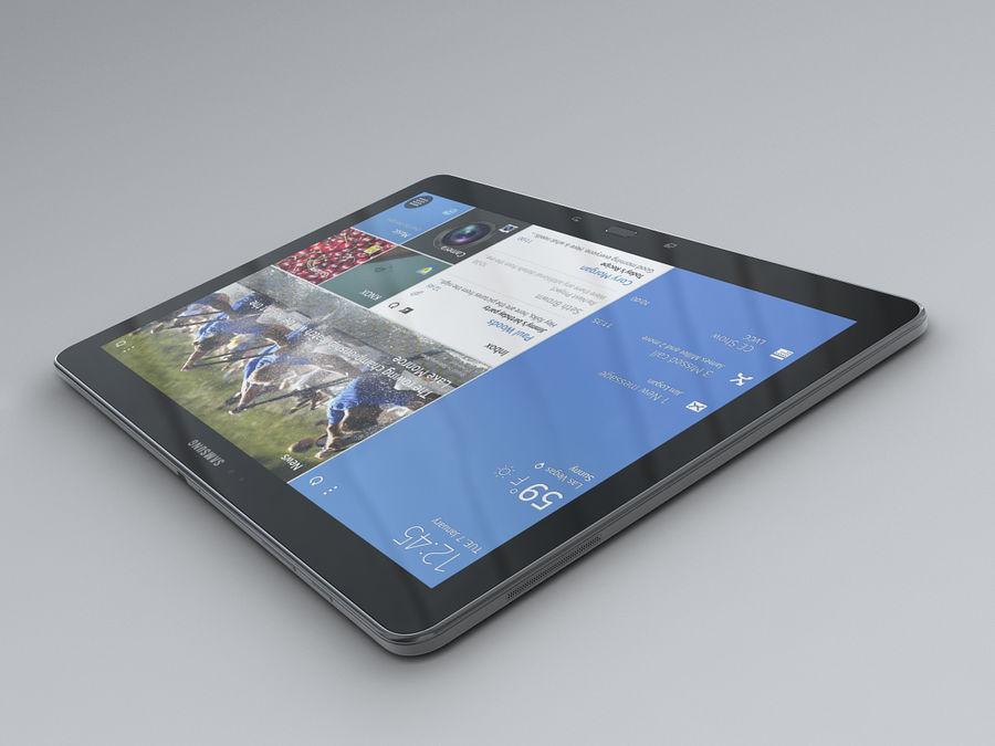 Samsung Galaxy Tab Pro 12.2 royalty-free 3d model - Preview no. 15
