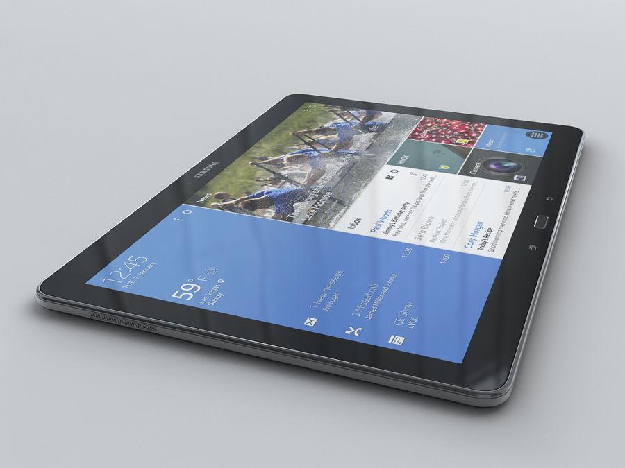 Samsung Galaxy Tab Pro 12.2 royalty-free 3d model - Preview no. 18