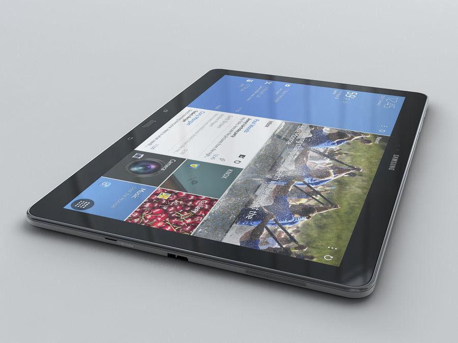 Samsung Galaxy Tab Pro 12.2 royalty-free 3d model - Preview no. 19