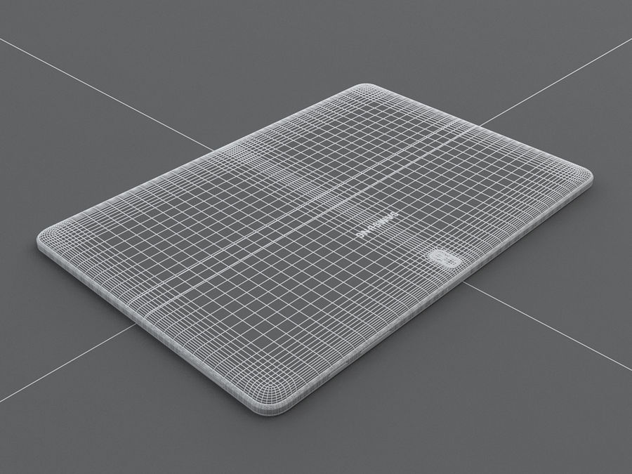 Samsung Galaxy Tab Pro 12.2 royalty-free 3d model - Preview no. 30