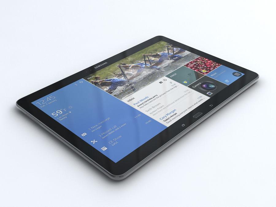 Samsung Galaxy Tab Pro 12.2 royalty-free 3d model - Preview no. 2