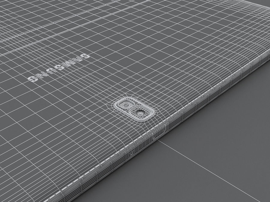 Samsung Galaxy Tab Pro 12.2 royalty-free 3d model - Preview no. 31