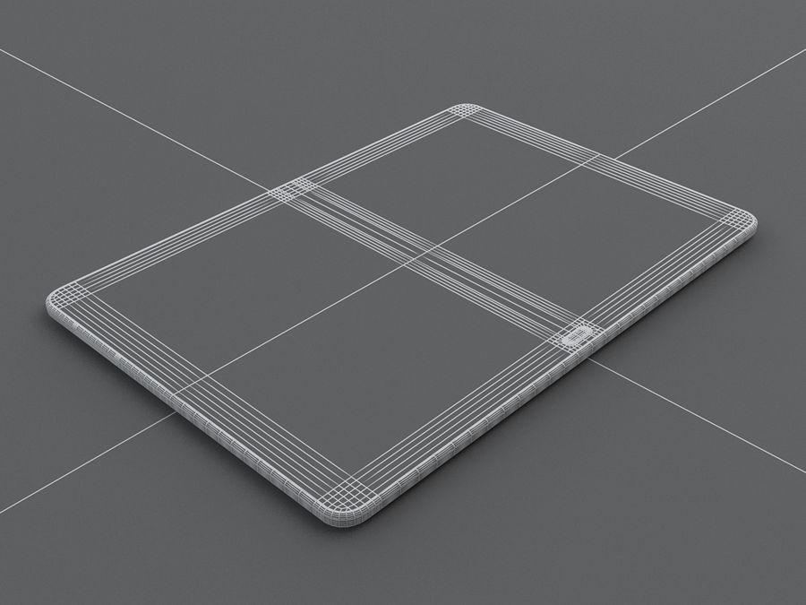 Samsung Galaxy Tab Pro 12.2 royalty-free 3d model - Preview no. 28