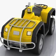 Desenhos animados ATV 3d model