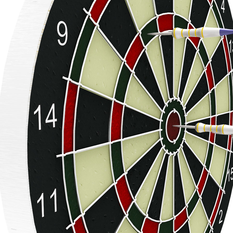 Dart oyunu royalty-free 3d model - Preview no. 6