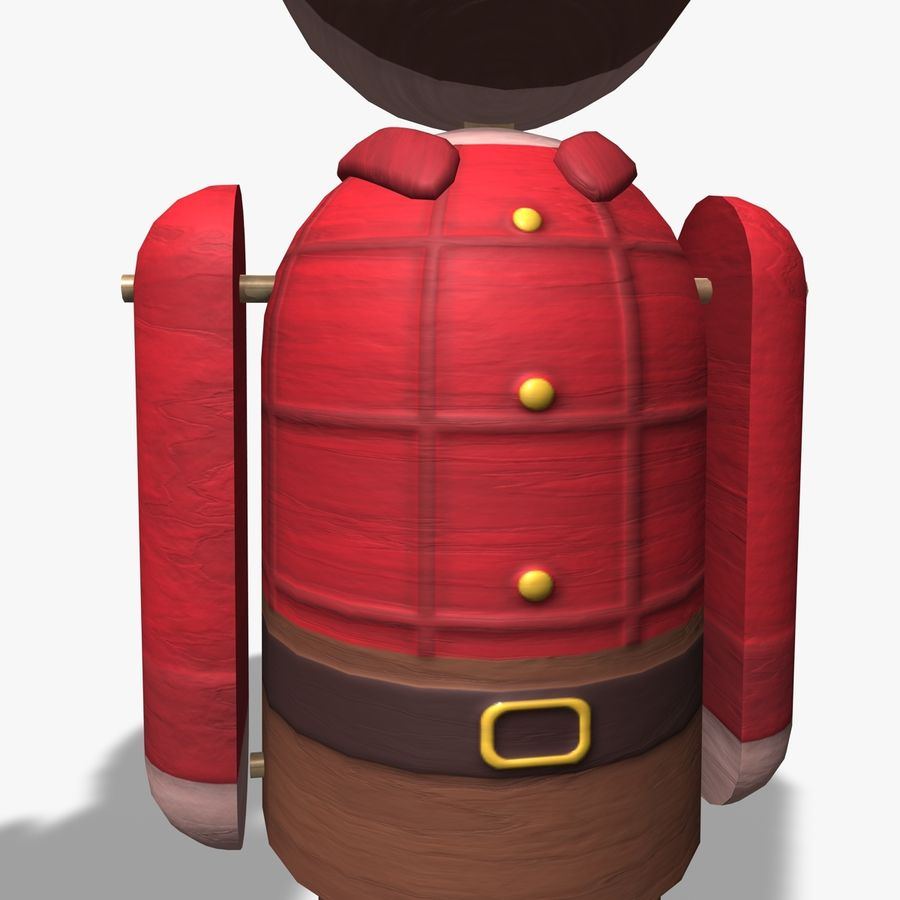 Toy tecken royalty-free 3d model - Preview no. 10