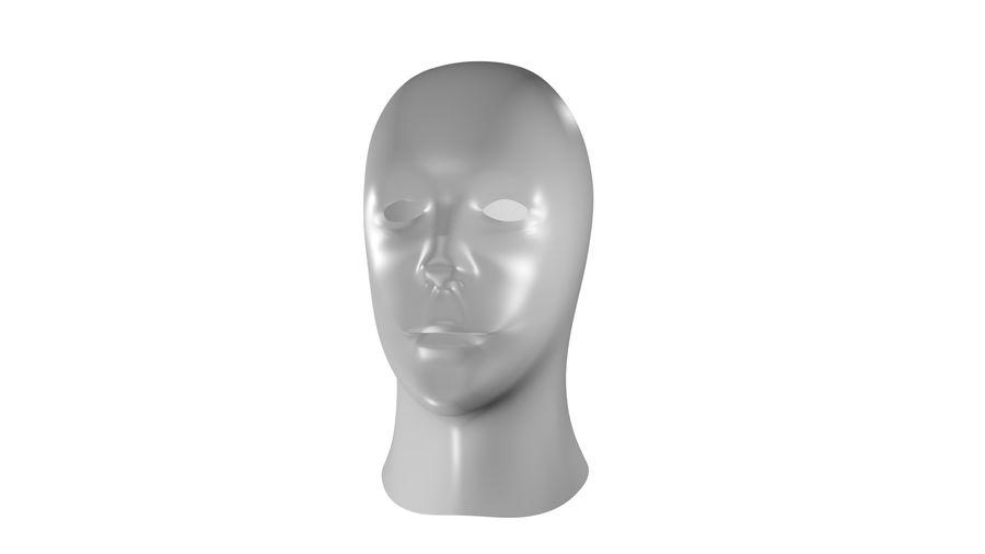人間の頭 royalty-free 3d model - Preview no. 1