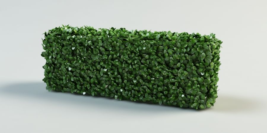 Hecke Topiary Busch royalty-free 3d model - Preview no. 4