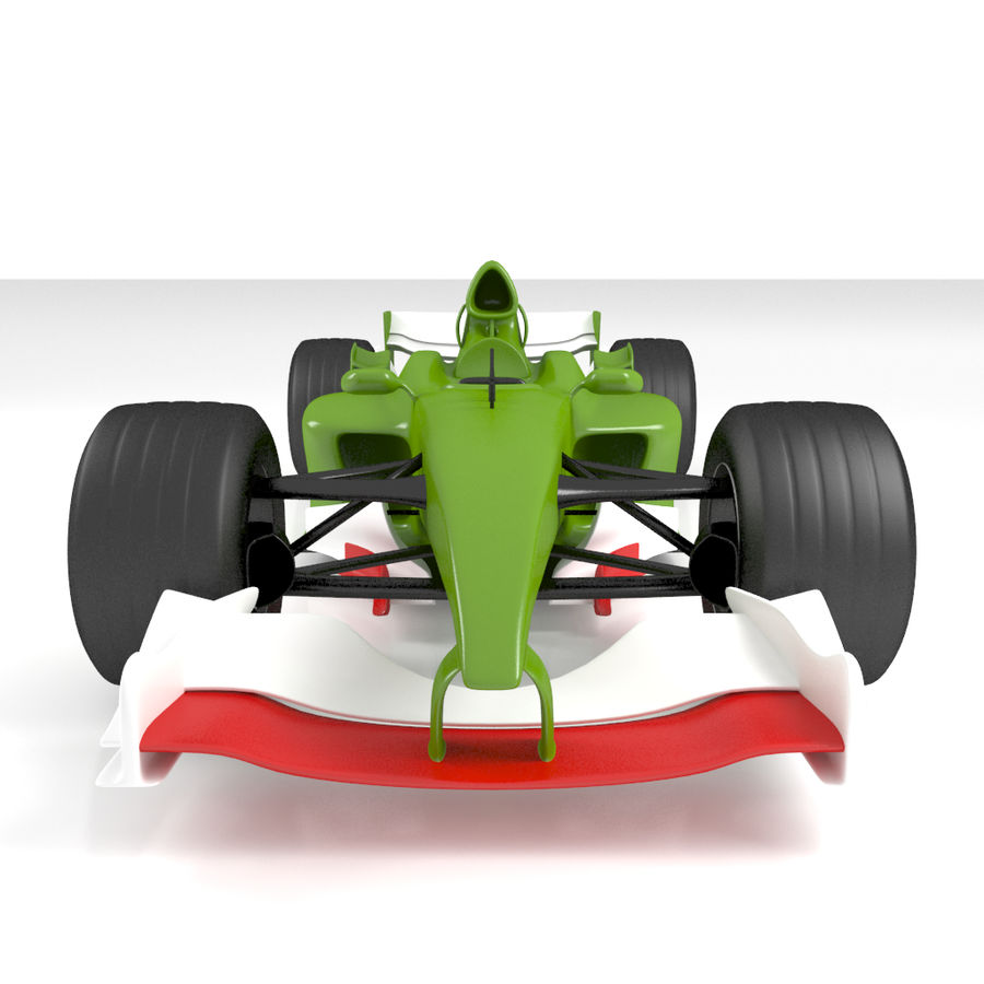 Formule 1 royalty-free 3d model - Preview no. 5