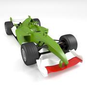 Fórmula 1 modelo 3d