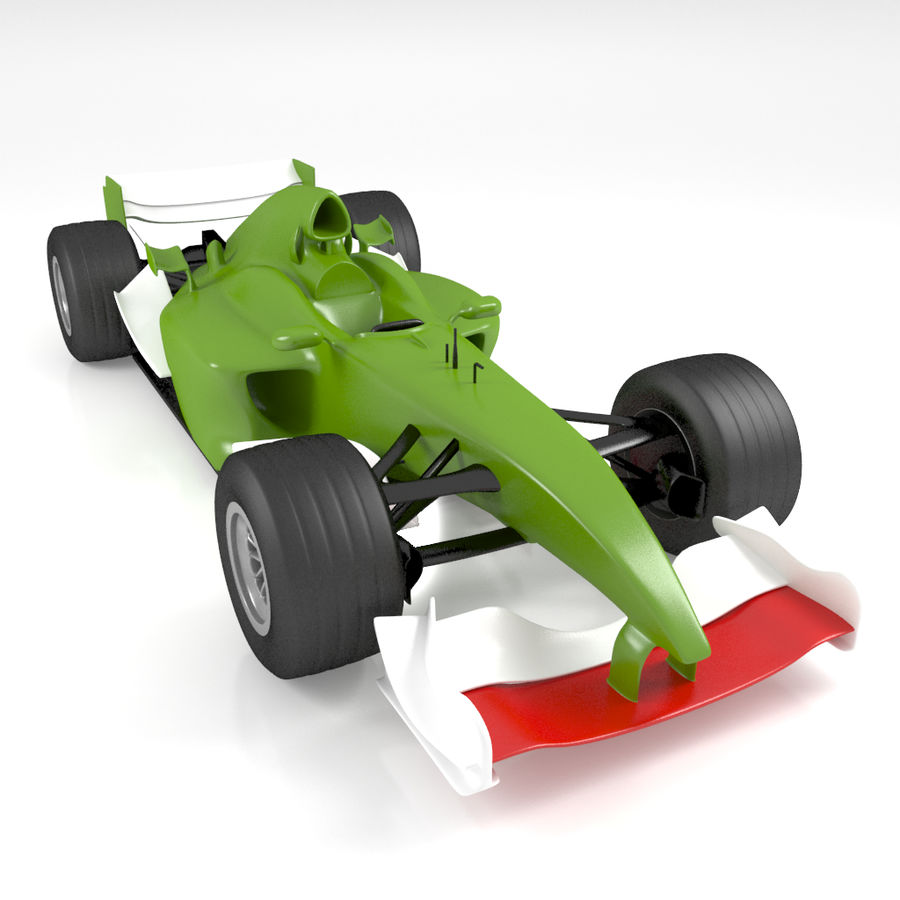 Formule 1 royalty-free 3d model - Preview no. 1