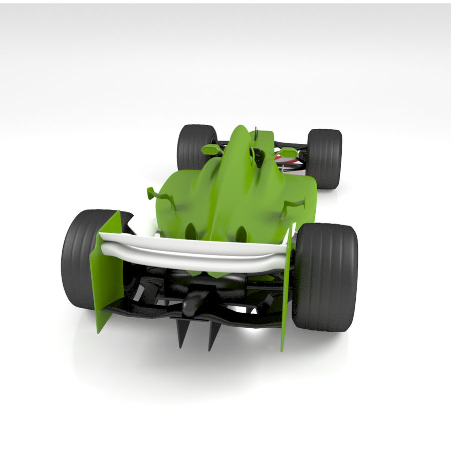 Formule 1 royalty-free 3d model - Preview no. 4