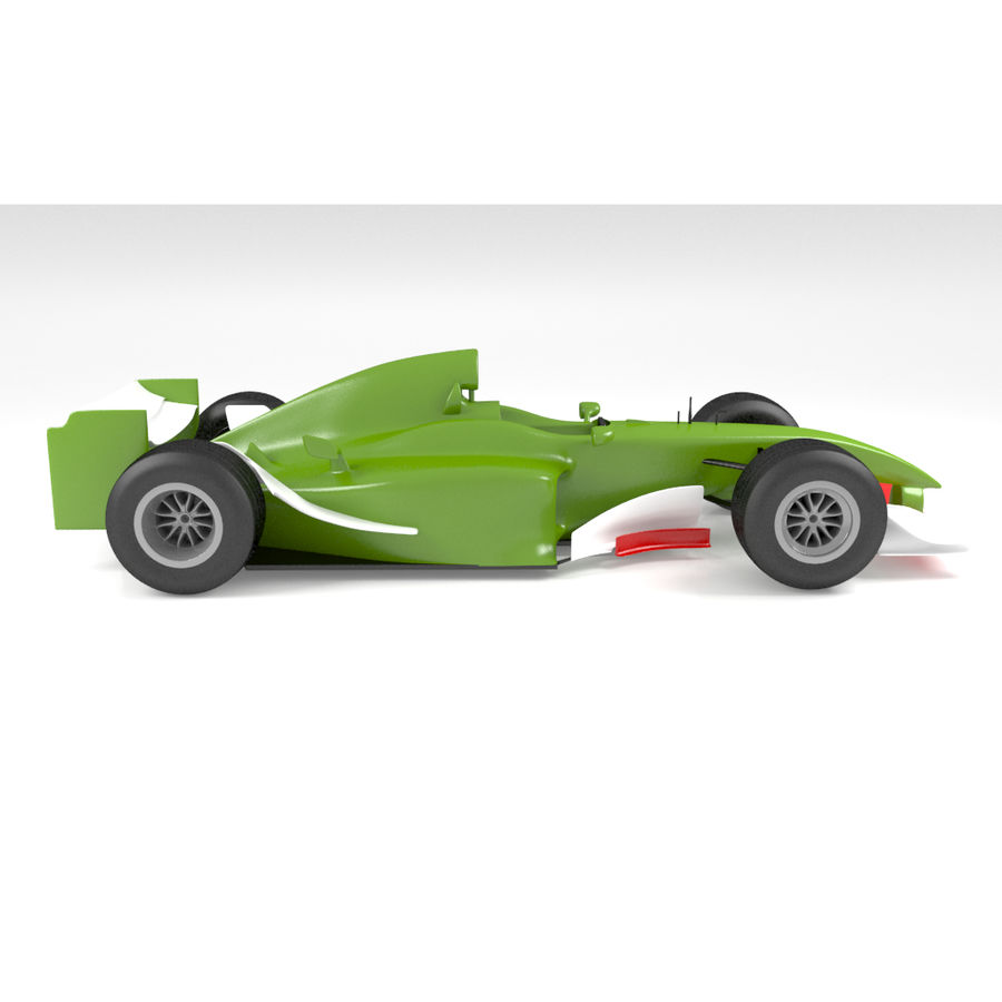 Formule 1 royalty-free 3d model - Preview no. 2
