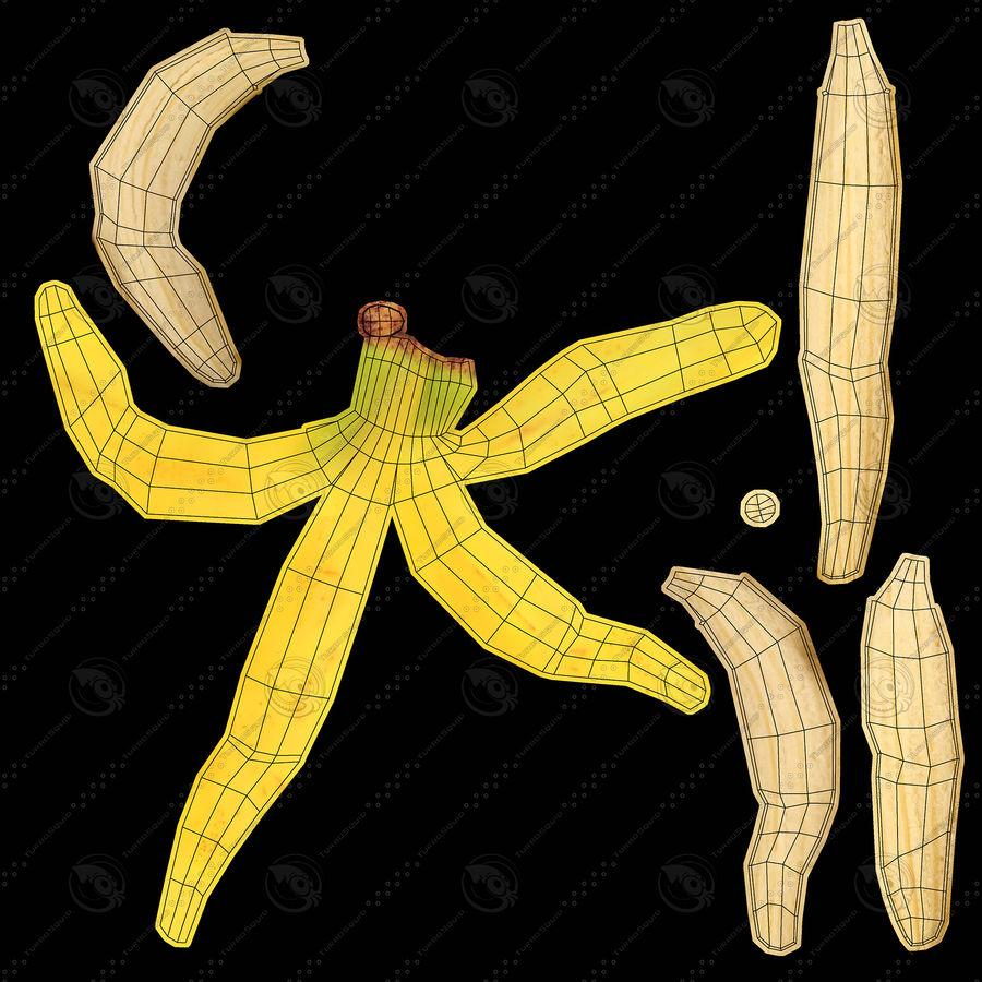 Banana Peels royalty-free 3d model - Preview no. 19
