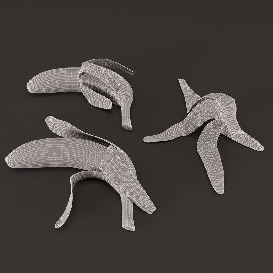 Banana Peels royalty-free 3d model - Preview no. 4